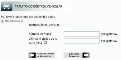 consulta y pago de refrendo veicular instituto de control vehicular