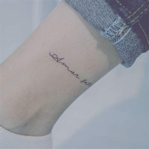 amor fati tattoo 타투어 밤 baam kr fati tattooer baam baam