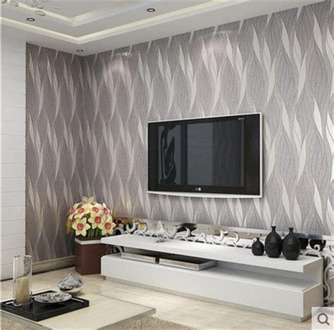 silver grey wallpaper living room papel de parede silver grey 3d modern entertainment