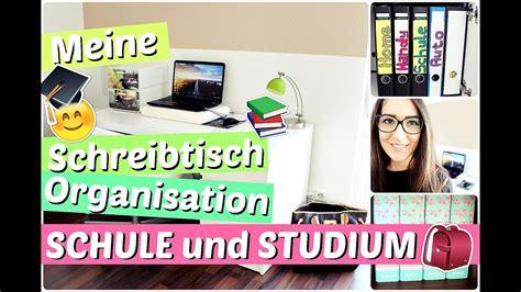 Schreibtisch Organisieren