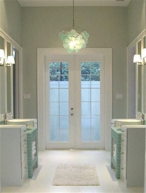 Sea Salt Sherwin Williams Bedroom by Sherwin Williams Sea Salt Sw6204 And Anthropologie Chandelie Bath Ideas Juxtapost