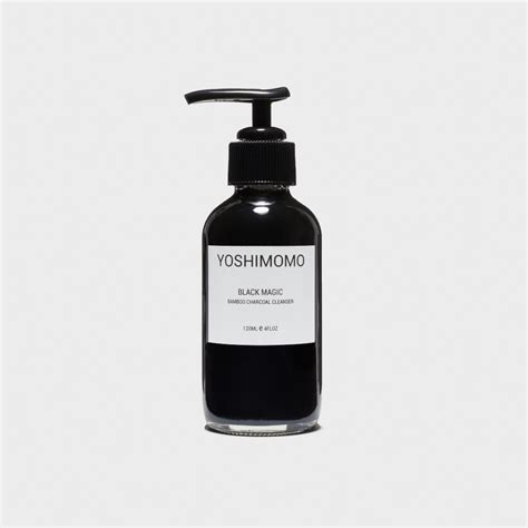 Activated Charcoal Skin Detox by Black Magic Bamboo Activated Charcoal Cleanser Organic