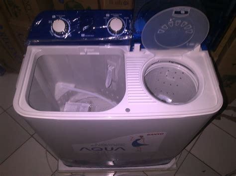 Jual Cover Mesin Cuci 2 Tabung jual sanyo mesin cuci 2 tabung seri 870 xt