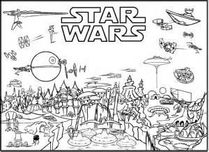 star wars colorear pintar imprimir