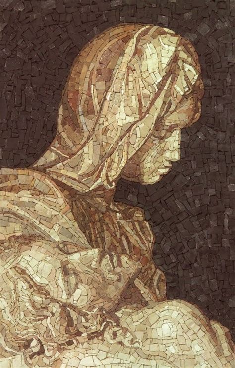 tribute to fine arts michelangelo 17 best images about mosaic portraits on