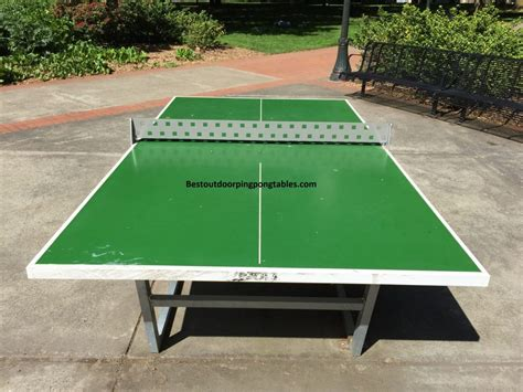 joola city outdoor ping pong table best outdoor ping