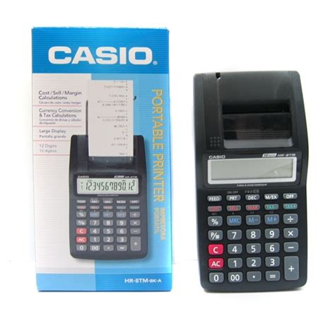 Adaptor Casio Portable Printer For Hr 8 Rc Hr 100 Rc 1 jual kalkulator printer kasir casio portable hr 8tm dcloudstore di omjoni
