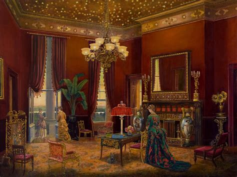 white house gold room peter waddell