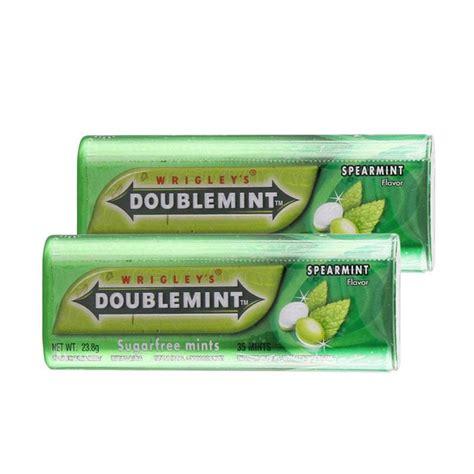 Permen Karet Doublemint Isi 5 jual doublemint spearmints permen 23 8 g 2 pcs harga kualitas terjamin blibli