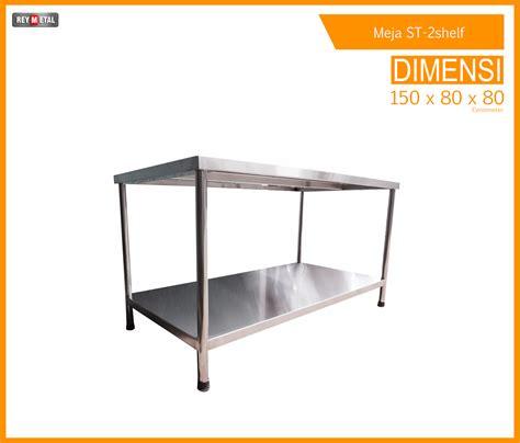 Meja Dapur Stainless Steel jual meja stainless steel harga bekas