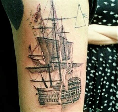harry styles boat tattoo one direction s harry styles adds a ship to eclectic