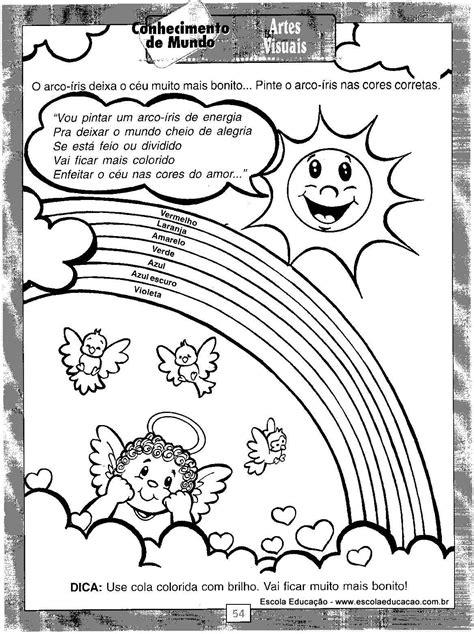 Atividades festa Junina Pintar 4 - Escola Educação