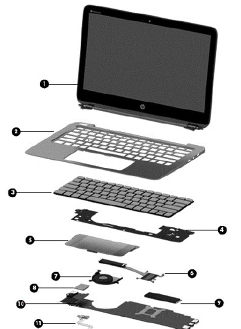 Spare Part Pc hp spectre 13 pro notebook pc spare parts hp 174 customer support