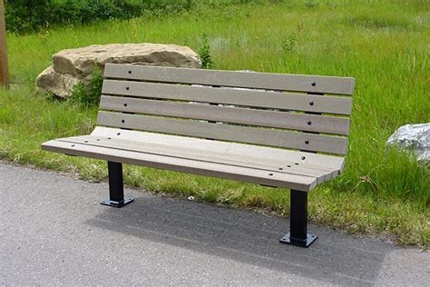 personalized park bench series ar benches custom park leisure
