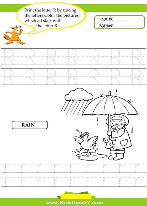 kindergarten activities with the letter r letter r worksheets for kindergarten alphabet tracing
