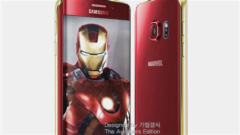 Samsung Galaxy S6 Ironman Edition samsung plotting iron editions of galaxy s6 and s6 edge