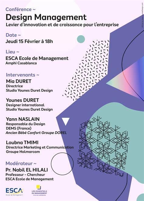 design management conference 2018 conf 233 rence design management mia et younes duret partagent