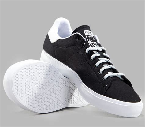 Sepatu Casual Best Seller Adidas Stan Smith new adidas stan smith vulc mens originals black casual trainers sneakers 6 12 ebay