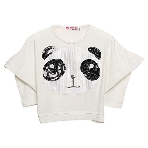 Gw 130 T Shirt By Baby Panda 2 8y baby batwing t shirt top white black stripe