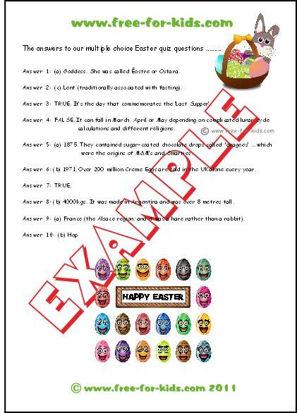 printable easter quiz 17 best ideas about easter quiz on pinterest easter