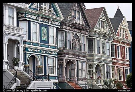 victorian houses san francisco picture photo row of elaborately decorated victorian houses san francisco