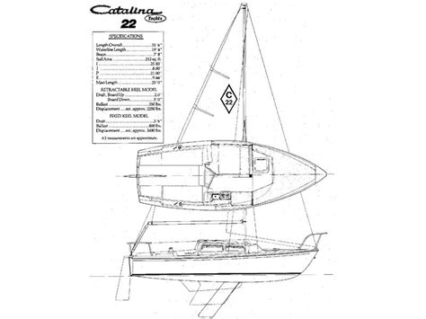 yacht rigging layout 1981 catalina c 22 sailboat for sale in virginia