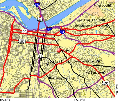 zip code map for louisville ky map of louisville ky by zip code pictures to pin on
