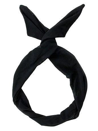 Black Undies 0506 twist scarf american apparel
