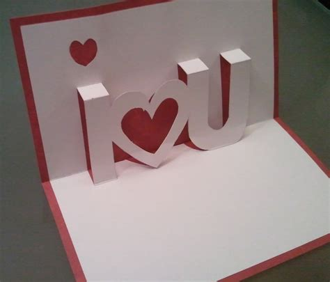 how to make a pop up valentines card becca creative pop up s day card