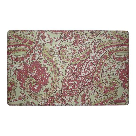 memory foam rugs for kitchen rust 20 in x 32 in memory foam kitchen mat laymk005277 the home depot