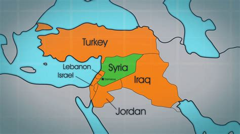 map of syria and surrounding countries the gallery for gt cross country pictures
