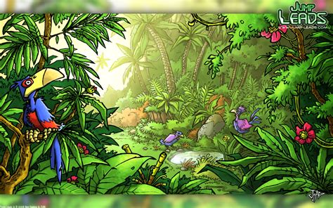 Jungle Background For Kids Rainforest Wall Paper Kid