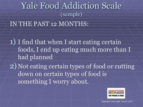 Yale New Detox by Toronto Rounds In Addiction Food Addiction Is It