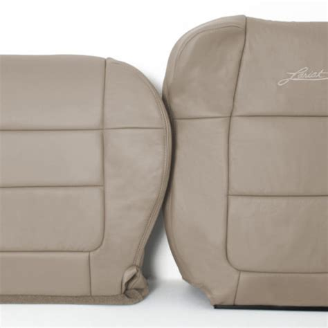 ford f150 replacement leather seat covers 2001 2002 ford f 150 lariat crew leather seat covers