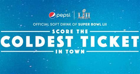 Pepsi Super Bowl Sweepstakes - pepsi super bowl lii sweepstakes 2018 sb52pepsi com