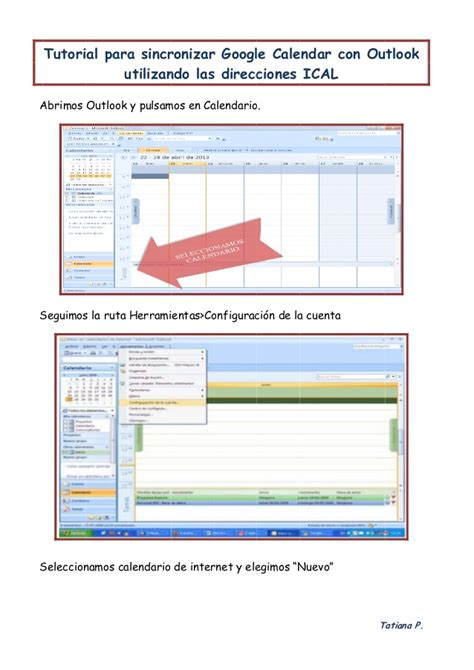 Outlook Calendar Tutorial Tutorial Sincronizar Calendario Con Outlook
