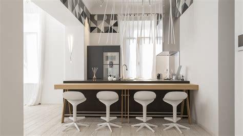 penisole in cucina cucina living open space con penisola