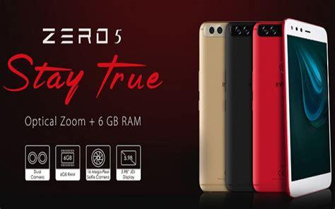 Infinix Zero 5 Pro infinix launches zero 5 and zero 5 pro with 6 gb ram