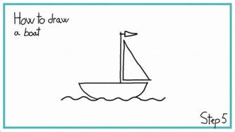 How To Draw A Easy How To Draw A Boat In 7 Steps Easy
