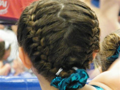 how to wear short hair for gymnastic meet 17 best images about hair styles on pinterest gymnasts