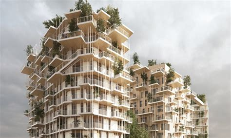 Home Design Shows Canada Bordeaux Canopia Tower Will Be One Of The Tallest Timber