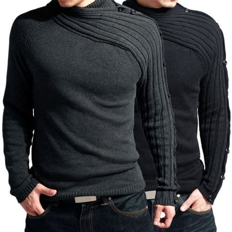 Winter Fashion Warm Sweaters by Cool S Fashion Slim Fit Winter Warm Casual