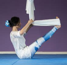 supported boat pose 1000 images about restorative aerial yoga on pinterest