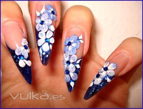 imagenes de uñas de acrilico en 3d glamour nail studio decoracion u 241 as gel y porcelana en