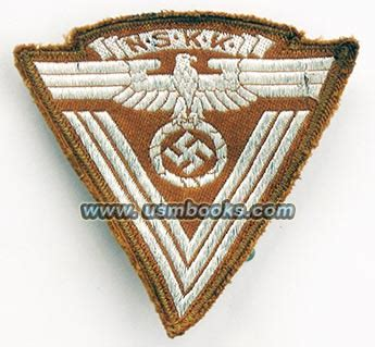 the third reich in 100 objects a material history of germany books nskk insignia 100 original to the third reich