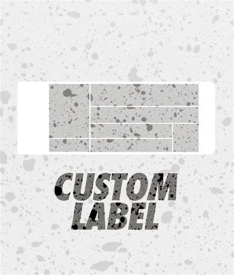 Custom Box Label Sneakerboxid Com Shoe Box Label Template