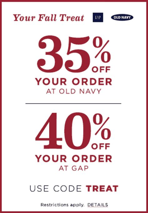 old navy coupons october 2015 old navy gap canadaonline offers save 35 off your