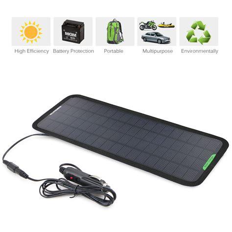 Motorrad Batterie Mit Solar Laden by 12v Solarzelle Solar Ladeger 196 T Solarpanel Solarmodul Auto