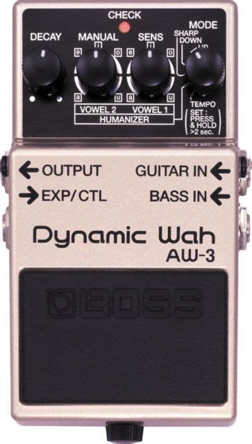 wah pedal tutorial boss aw 3 pedal dynamic wah for electric guitar south