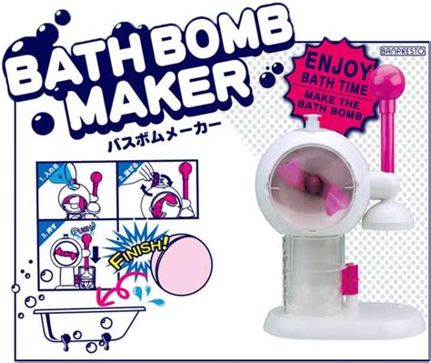 bathroom maker japan trend shop bath bomb maker